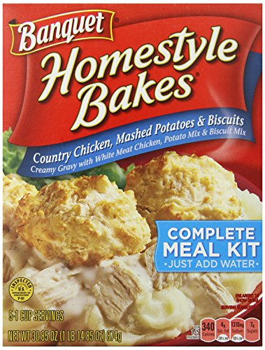 Dinner Box (Banquet  Homestyle Bakes Country Chicken, 30.9-Ounce Boxes (Pack of 6))