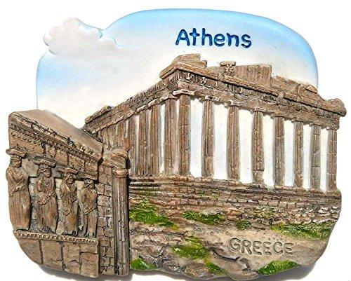 Acropolis Parthenon Athens Greece, High Quality Resin 3d Fridge -