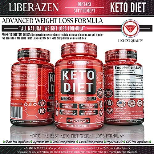 Keto Diet Pills - Instant Exogenous Ketones for Fuel and Natural Burn and Fat Loss Blast - Advanced Weight Loss Pure Keto Supplements for Fast Ketosis - 60 Capsules 5