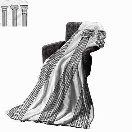 Superb Anzhutwelve Personalized Blankets Pillar Antique Column Capitals Lightweight Plush Throws W60 X L50 Inch Machost Co Dining Chair Design Ideas Machostcouk