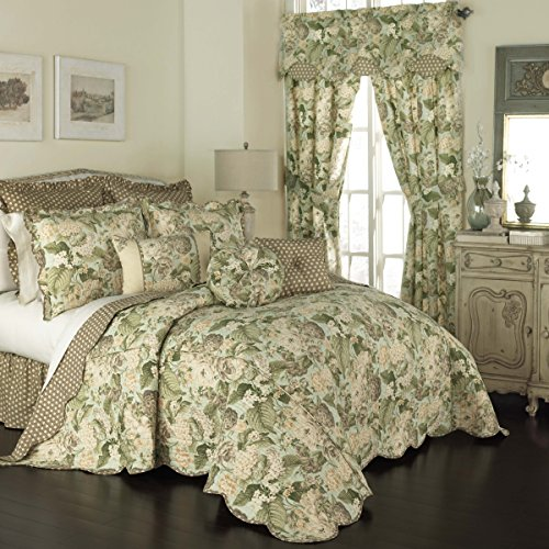 - WAVERLY Bedspread Collection, King/Cal King, Garden Glory