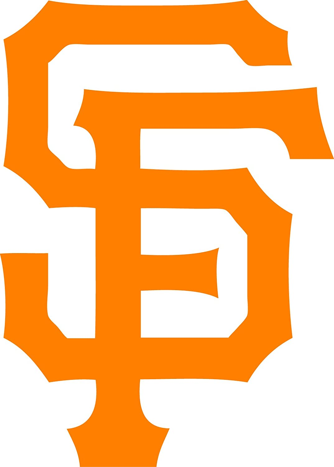 TDT Printing & Custom Decals San Francisco Giants Vinyl Decal Sticker for Car or Truck Windows, Laptops etc.