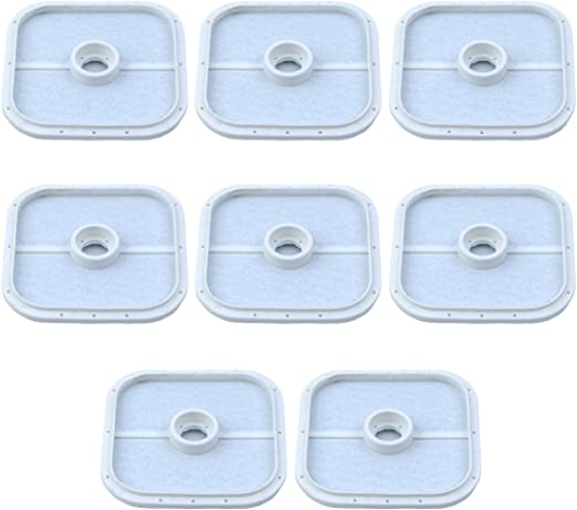 Haishine 8Pcs Filtro Aria per Echo SRM-266 SRM-280 PE-280 PB-251 PB-255 PB-265 A226000471 A226000472 Soffiatori