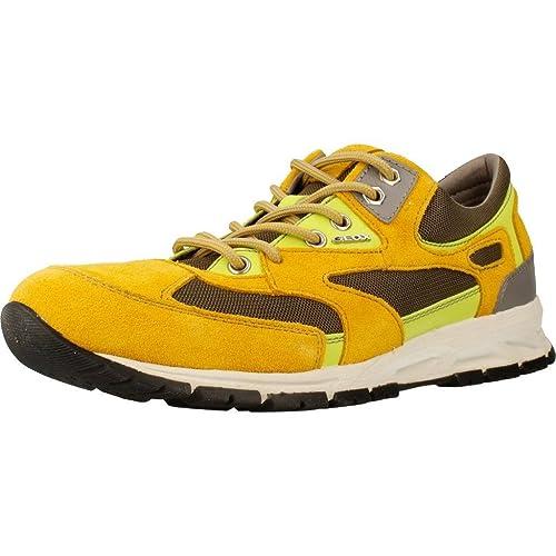 Sneaker GEOX U DELRAY Color Giallo
