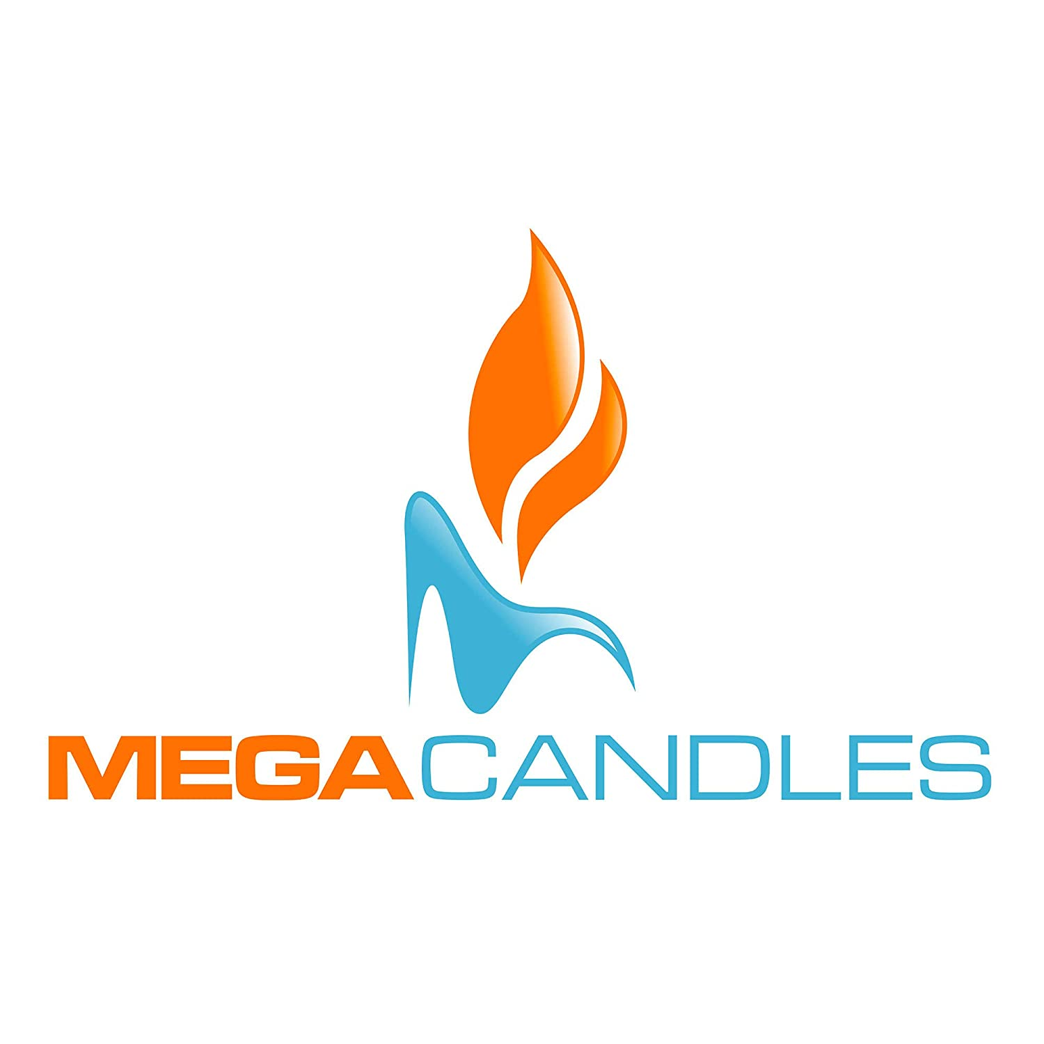 Birthdays Celebrations /& More Mega Candles 4 pcs Unscented White Floating Rose Petals Flower Candle Baby Showers for Home D/écor Wedding Receptions Hand Poured Wax Candles 2 Diameter