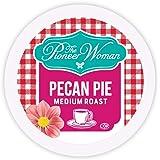 The Pioneer Woman Flavored Coffee Pods, Pecan Pie Medium Roast Coffee, Single Serve Coffee Pods for Keurig K Cup Machines, 24