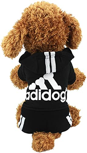 Idepet Cotton Adidog Dog Hoodie