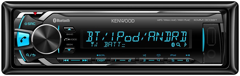 Kenwood KMM BT Radio para coche FM Bluetooth USB negro