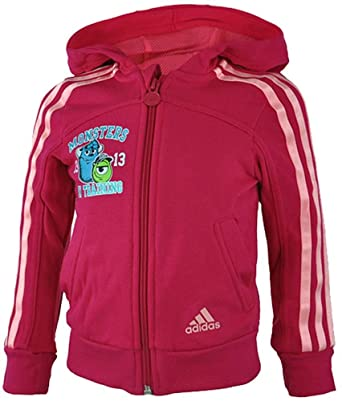 adidas LK DY M Hooded Girls Mädchen Kapuzenpullover Sweatshirt Hoody Pink