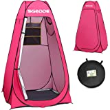 SGODDE Pop Up Privacy Shower Tent,Instant Portable Outdoor Shower Tent Camp Toilet, Changing Room, Rain Shelter with…