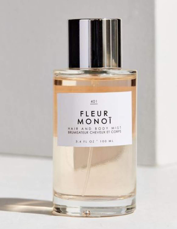 Gourmand Fleur Monoi Hair + Body Mist 3.4 Fl.Oz! Blend Of Gardenia and Coconut! Perfumed Hair & Body Mist For All Day Long-Lasting Freshness! Choose Your Scent! (Fleur Monoi)