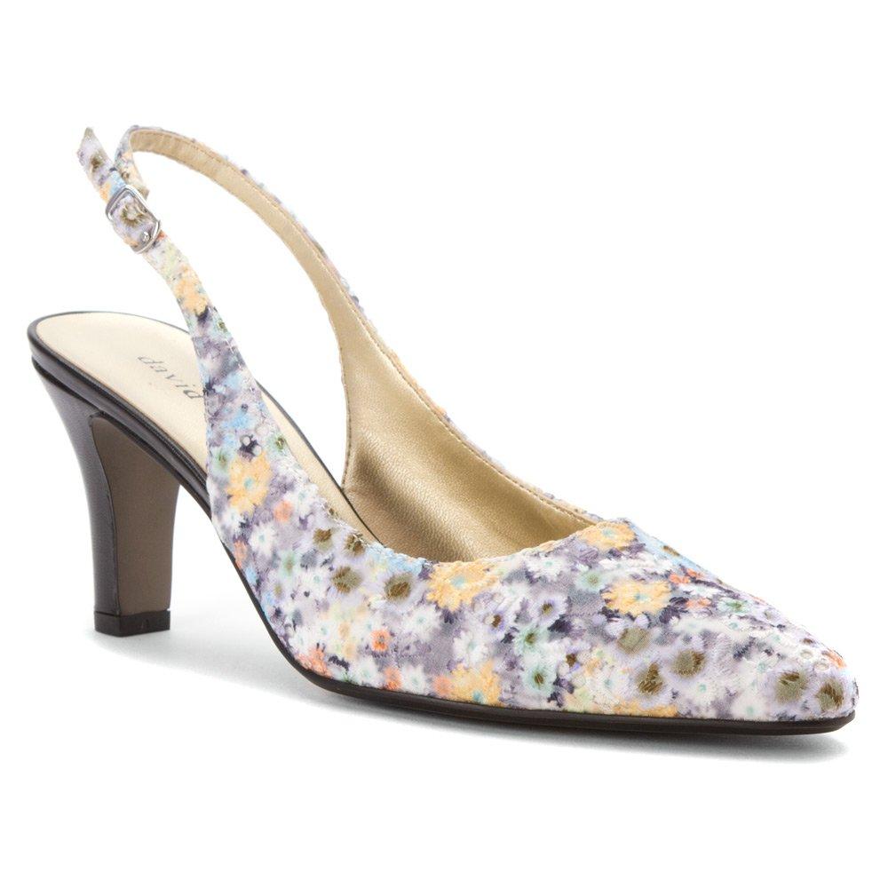 David Tate Women's Lace Shoe B00M4Q3AE6 5.5 B(M) US|Black Multi