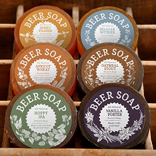 All Natural Beer Soap 6 Pack
