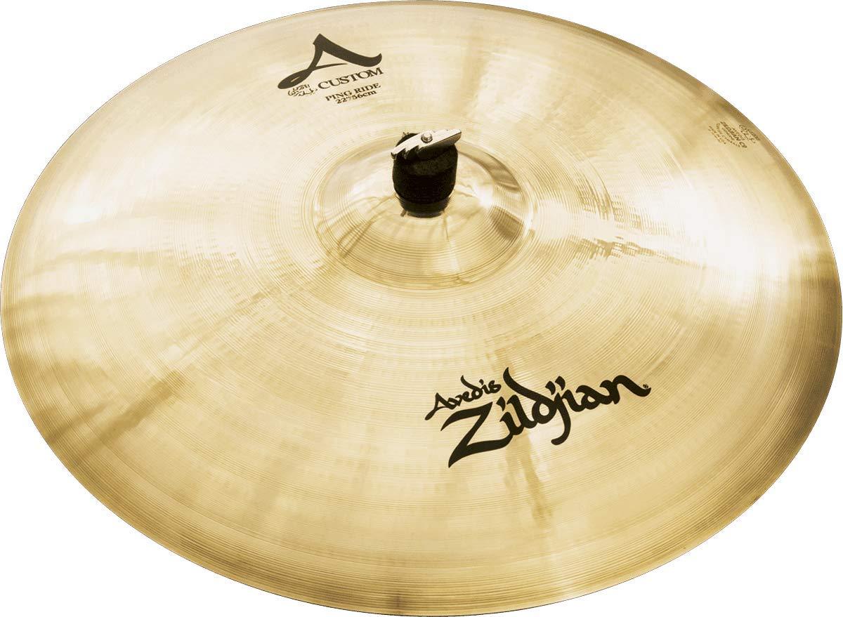 Zildjian A Custom 22'' Ping Ride Cymbal by Avedis Zildjian Company