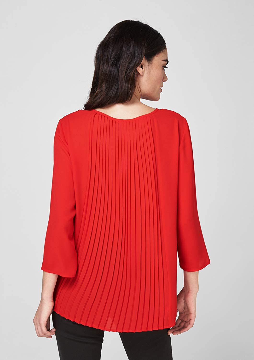 s.Oliver BLACK LABEL Women's Blouse Red (Red Kiss 3100)