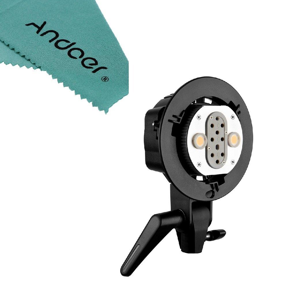 Godox WITSTRO AD-B2 AD200 Dual Power Flash Head Bowens Mount Double Tube Light Head Bracket for AD200 Portable Flash Speedlite Andoer