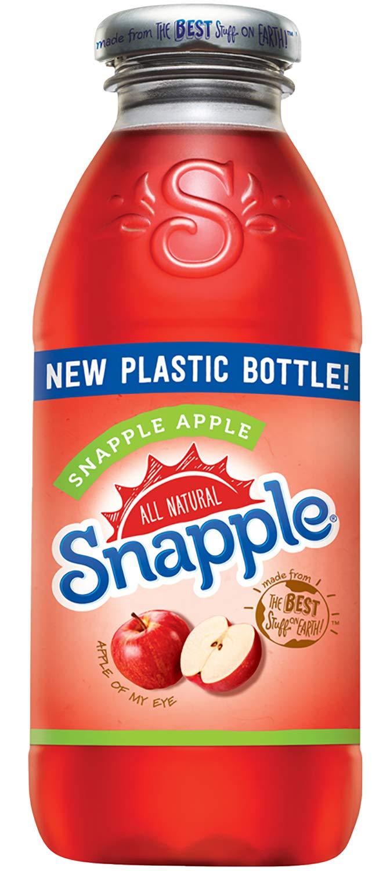 Snapple - Apple - 16 fl oz (24 Plastic Bottles)