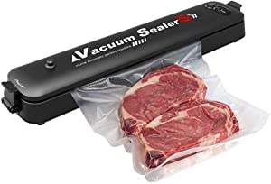 Vacuum Sealer Machine, inkint Automatic Food Sealer Machine with 15 Sealing Bags Food Vacuum Sealing System for Food Preservation Storage Saver