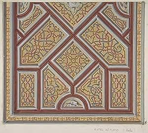 Jules-Edmond-Charles Lachaise РDesign for Ceiling Decoration in the H̫tel de Pless Berlin Artistica di Stampa (45,72 x 60,96 cm)