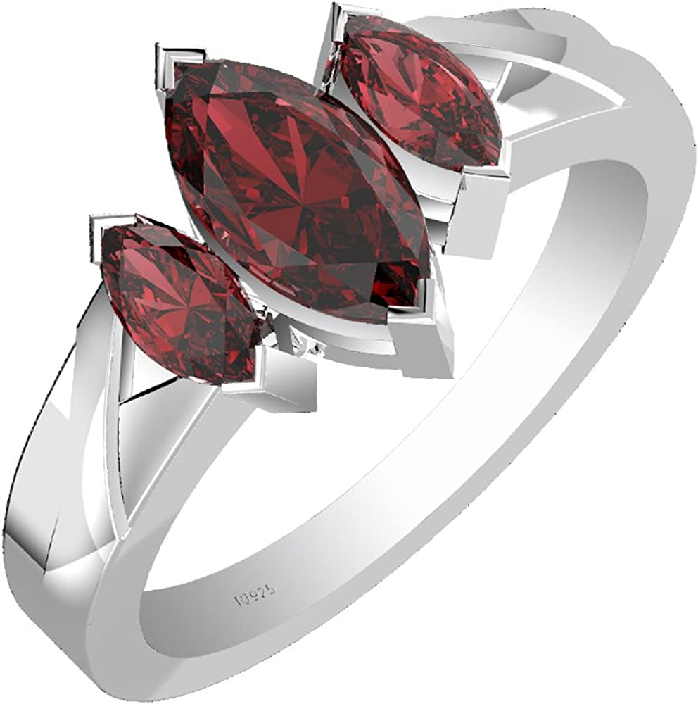 Turquoise Stone Designer Us Size Ring Sterling Silver 925 Champagne Rose cut Diamond with Natural Ruby