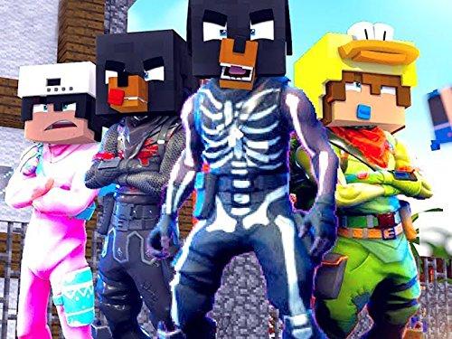 Clip: Fortnite Battle Royale in Minecraft