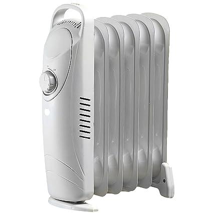 Sichler-Radiador eléctrico portátil con radiador con baño de aceite