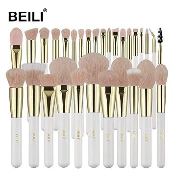 Amazon Com Beili Pro Makeup Brushes 30 Pieces Makeup Brush Set