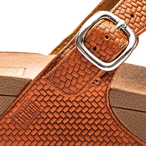 Fitflop the Skinny, Chanclas para Mujer Marrón (Tan)