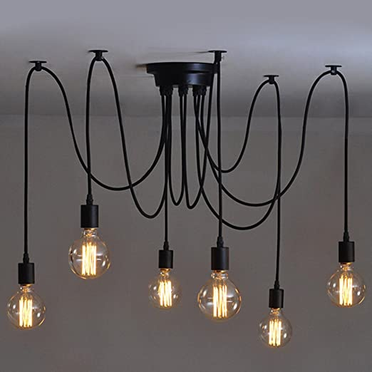 6 Pcs Luminaire Suspension Style Europeen Moderne Ikea Lampe