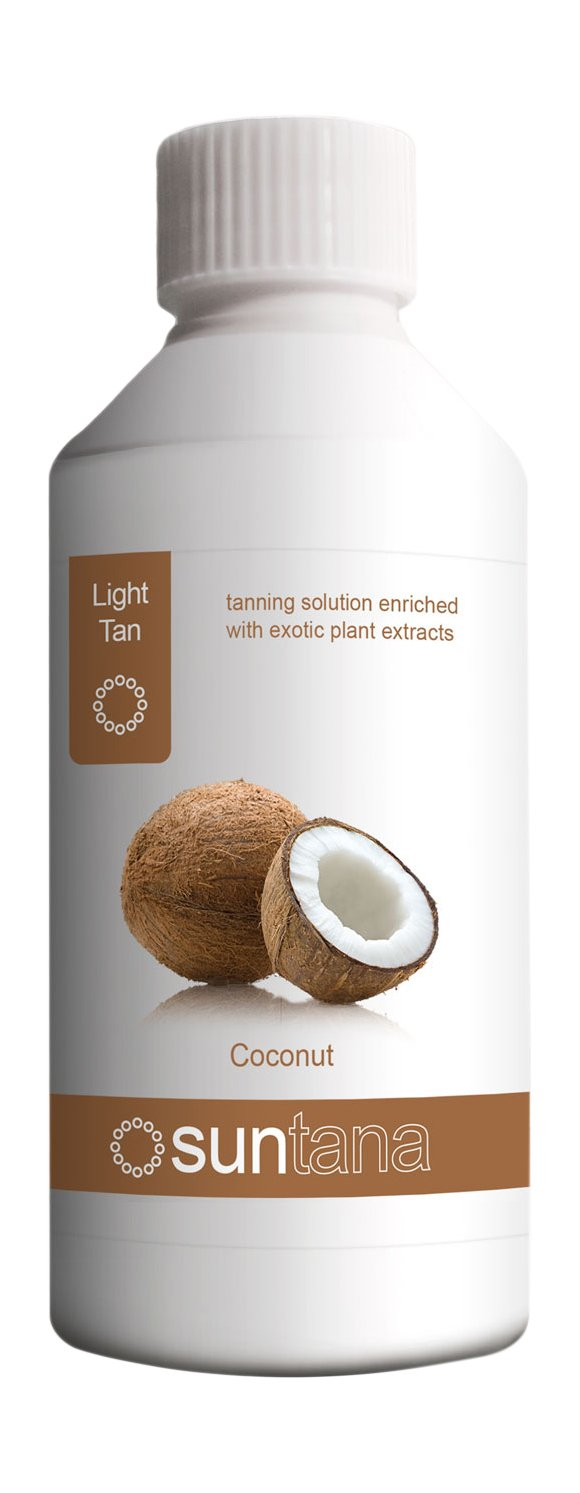Suntana Spray tan Coconut Fragranced Spray Tanning Solution, Light Tan 250 ml 250coconut