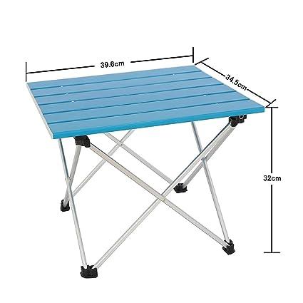 Amazon.com: Sutekus - Mesa plegable portátil para picnic al ...