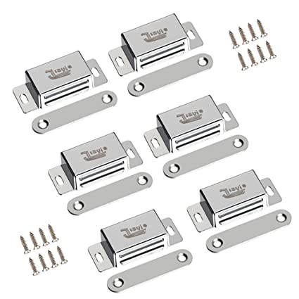 Magnetic Door Catch Jiayi 6 Pack Cabinet Door Magnets 15 Lbs Strong