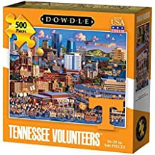 Dowdle Folk Art Tennessee Volunteers Jigsaw Puzzle (500  Pieces)