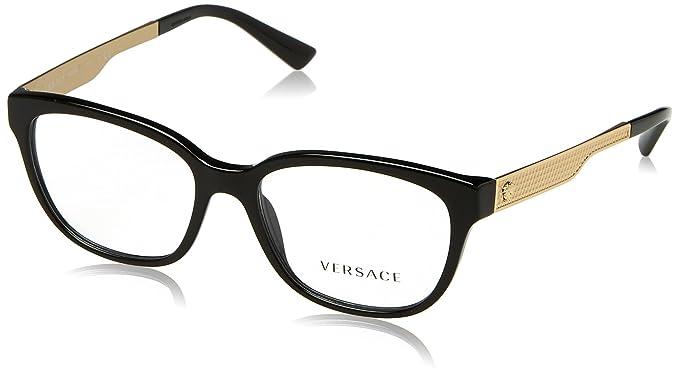 f061babf394 Amazon.com  Versace Women s VE3240 Eyeglasses 52mm  Clothing