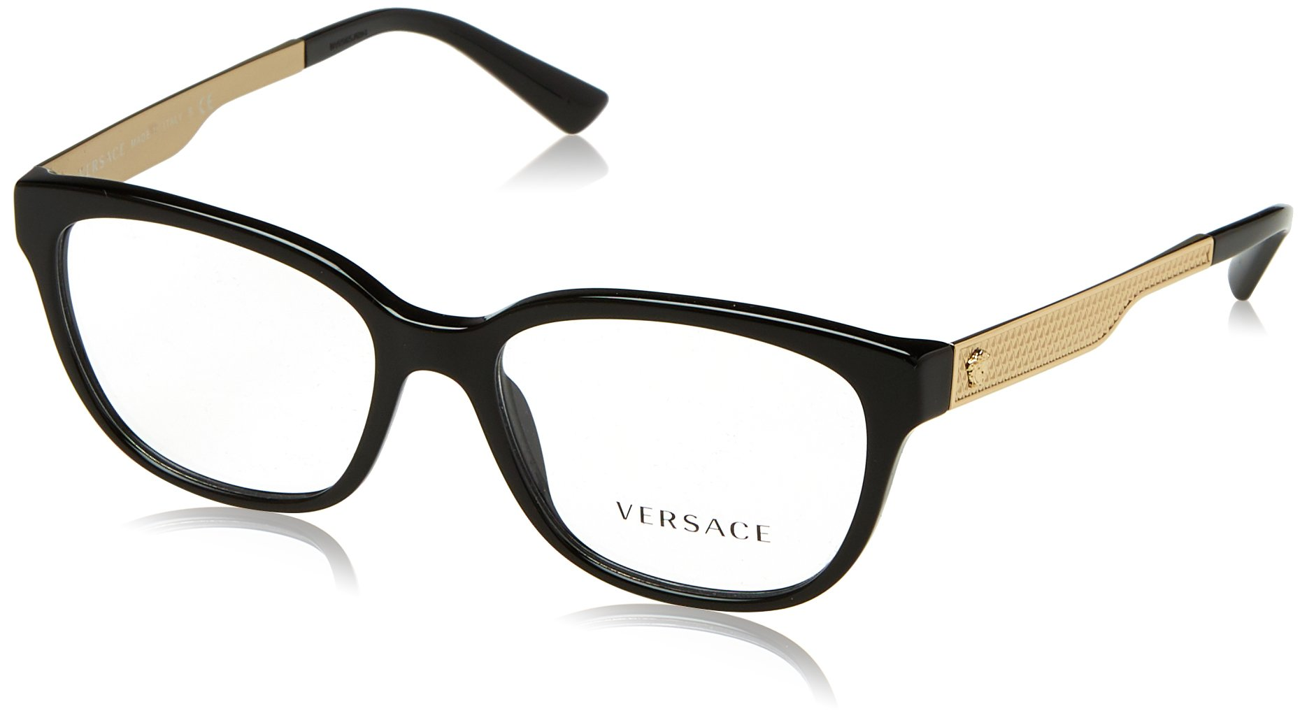 Versace Women's VE3240 Eyeglasses Black 52mm