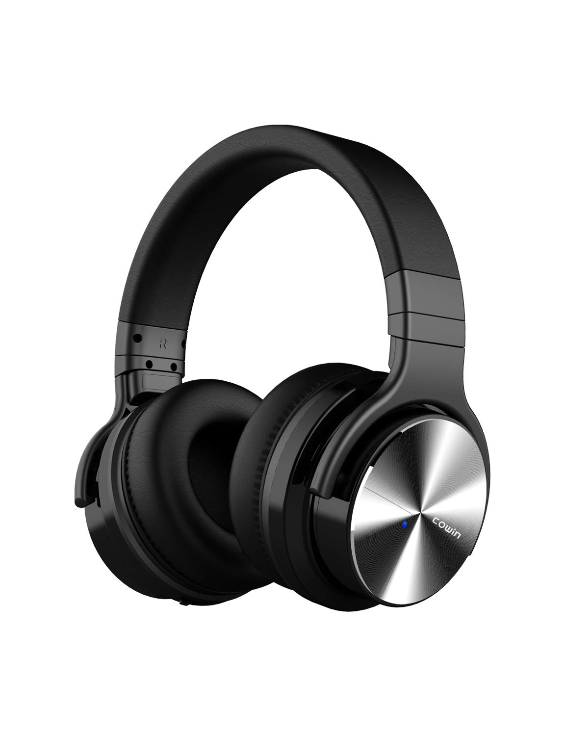COWIN E7 PRO Active Noise Cancelling Bluetooth Headphones Wireless Headphones Over Ear Deep Bass 30H Playtime for Travel/Work/TV/Computer/Cellphone, Black