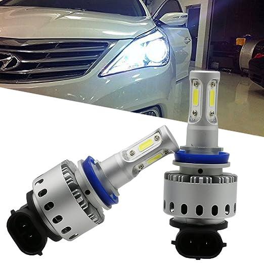 9 opinioni per Ralbay H8 H9 H11 Faro Bulbi Auto LED Luci 90W 12000LM Super Luminosa Lampada con