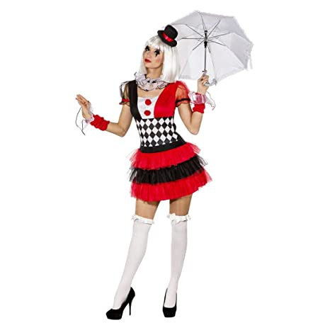 a disposizione buona vendita prezzo limitato NET TOYS Costume da Pierrot da Donna - IT 40/42 (S/M ...