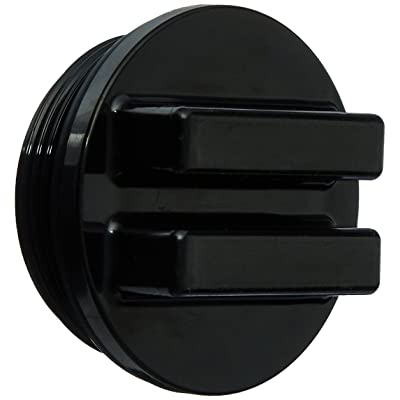 Hayward SP1022CBLK 1-1/2-Inch MIP Black Concrete Pool Drain Plug with O-Ring: Garden & Outdoor