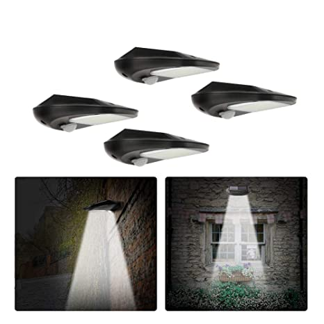 Litake Focos Solares Led Exterior, Wireless 30LED Sensor de Movimiento Sensor de Movimiento de 120