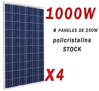Placa solar 1000w panel solar Fotovoltaico Polycrystalline