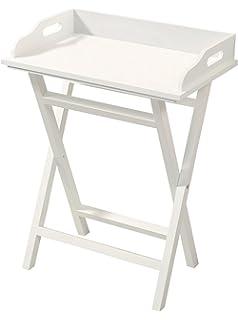 Tablett Tisch Ikea ikea maryd tabletttisch in grau 58x38x58cm amazon de beleuchtung