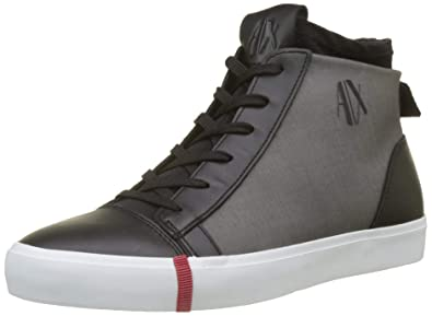 Armani Exchange High Top Sneakers, Zapatillas Altas para Mujer: Amazon.es: Zapatos y complementos