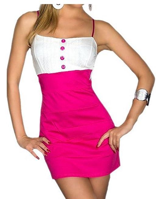 Ostenx Vestido Seductor sin Tirantes Mini Lencería Elástica de Única Talla para S/M Traje