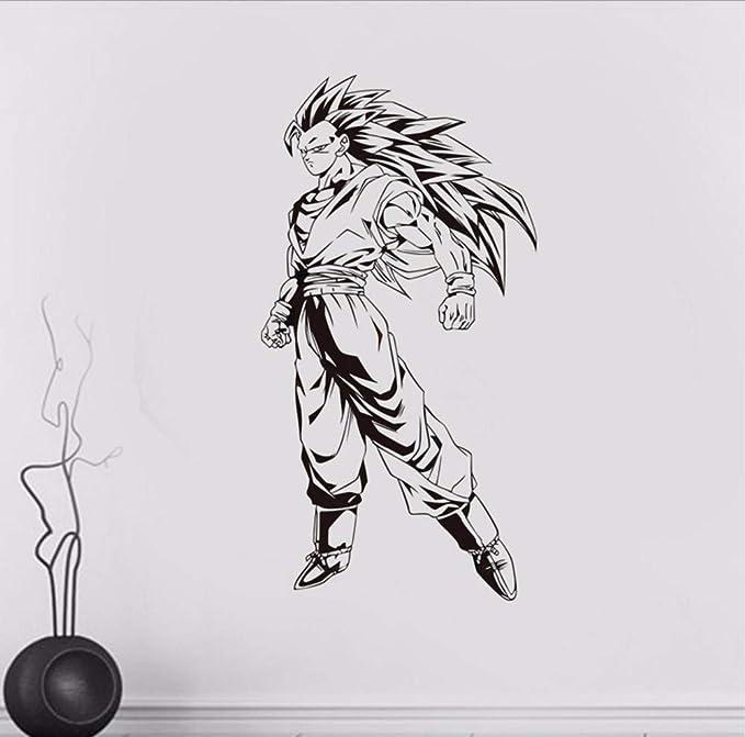 Wmbz Nueva Bola de Dragón de Dibujos Animados Super Saiyan Vinilo ...