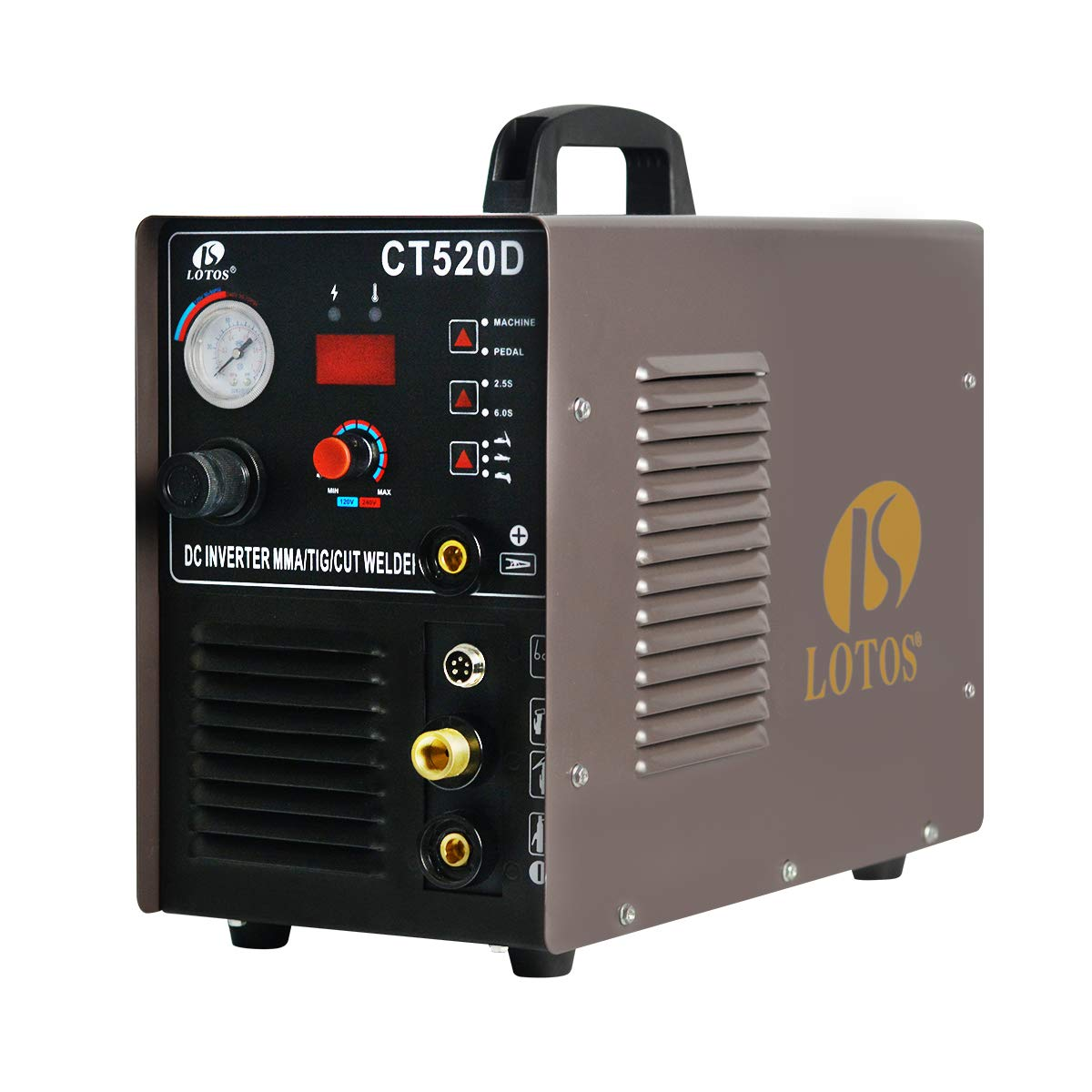 High Frequency Inverter Circuit Diagram Buy Lotos Ct520d Plasma Cutter Tig Stick Welder 3 In 1 Combo Welding Machine 50amp Air 200a Dual Voltage 220v 110v Power