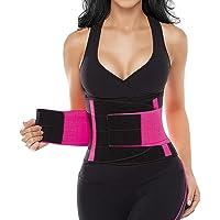 SHAPERX Waist Trainer Belt for Women - Waist Trimmer Slimming Belly Band Body Shaper Sports Girdles Workout Belt