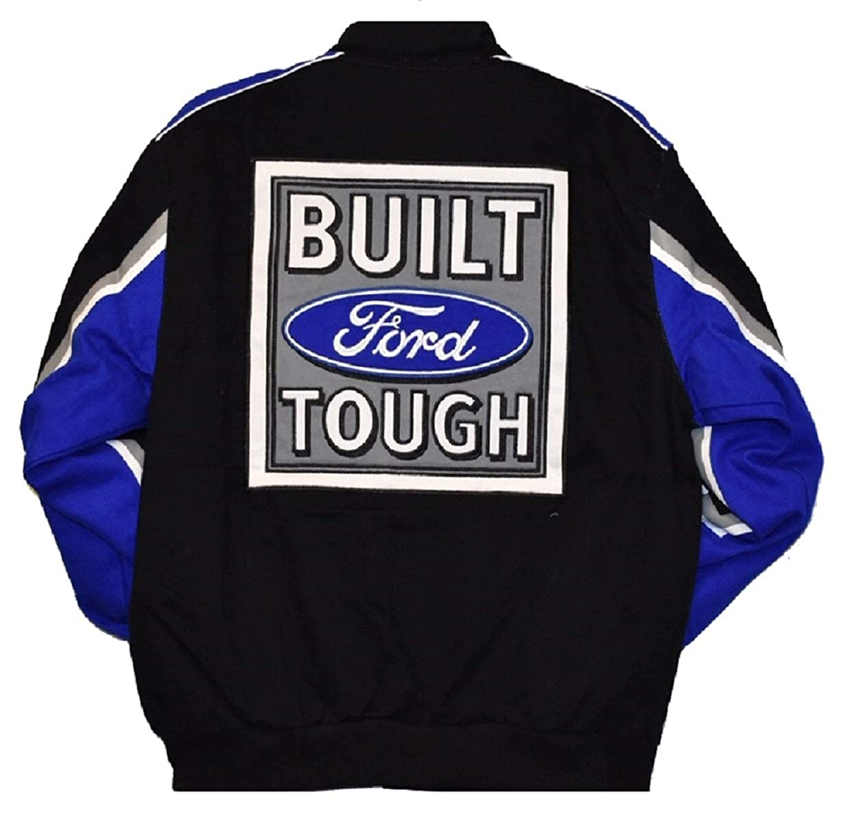 Ford Truck Embroidered Cotton Jacket Black Size Large