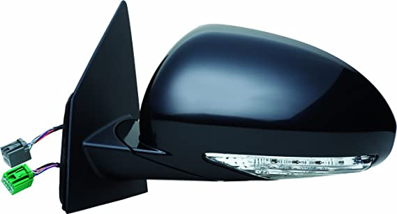Fit System 62104G Buick Enclave Driver Side Replacement Flat Mirror
