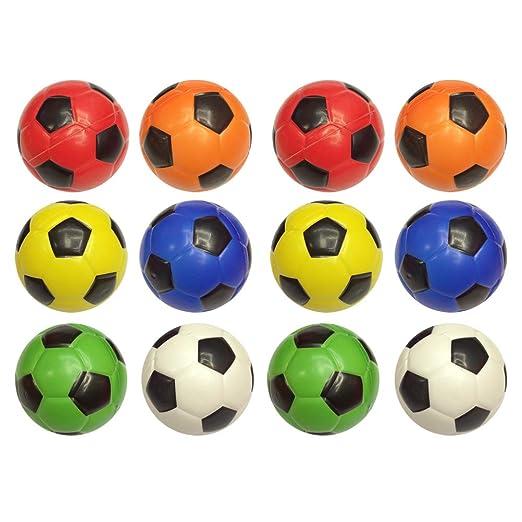 Toyvian Mini Pelota de fútbol de Juguete de fútbol 6.3 cm ...